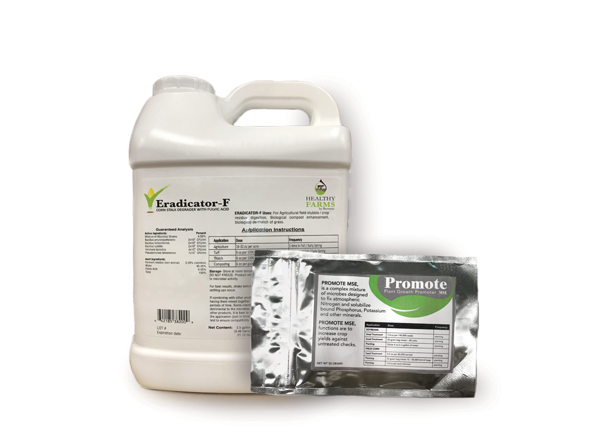 Healthy crops products - Eradicator-F and Promote